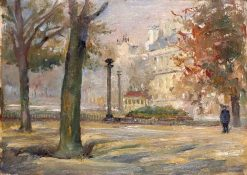 Luxembourg Gardens | Frank Armington | Oil Painting