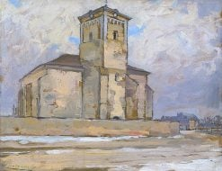 Church in Moldavia | Ludovit ?ordák | Oil Painting