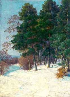 Forest in Winter | Ludovit ?ordák | Oil Painting