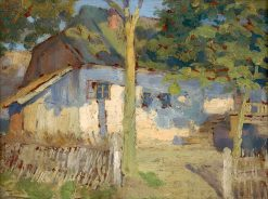 Front of the House   Ludovit ?ordák   Oil Painting