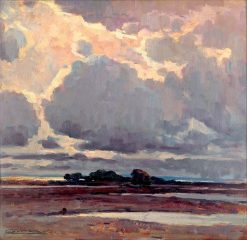 After the Storm   Ludovit ?ordák   Oil Painting