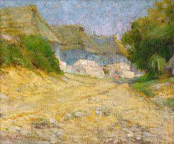 Village | Ludovit ?ordák | Oil Painting