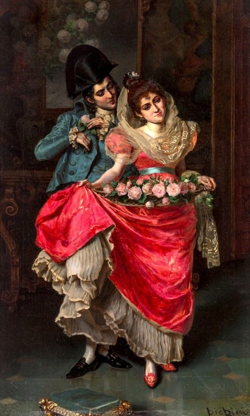 The Lovers | Pio Ricci | Oil Painting