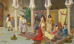 Choosing the Favorite | Giulio Rosati | Oil Painting