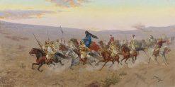 A Successful Raid | Giulio Rosati | Oil Painting