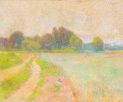 Lane | Ludovit ?ordák | Oil Painting