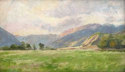 Mountain Meadow | Ludovit ?ordák | Oil Painting