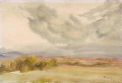 Clouds above the Plain | Zolo Palugyay | Oil Painting