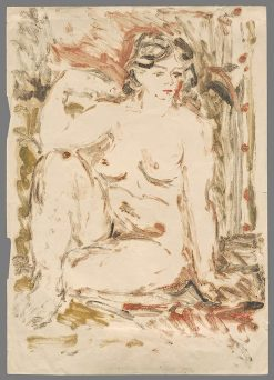 Female Nude | Zolo Palugyay | Oil Painting