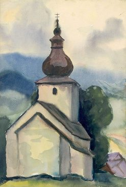 Bell Tower | Zolo Palugyay | Oil Painting