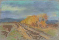 Autumn Theme | Zolo Palugyay | Oil Painting