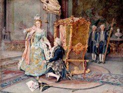 The Proposal | Giuseppe Signorini | Oil Painting