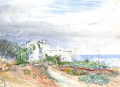 White House in Tangiers | Edwin Lord Weeks | Oil Painting