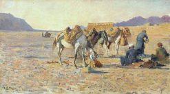 Near Ispahan | Edwin Lord Weeks | Oil Painting