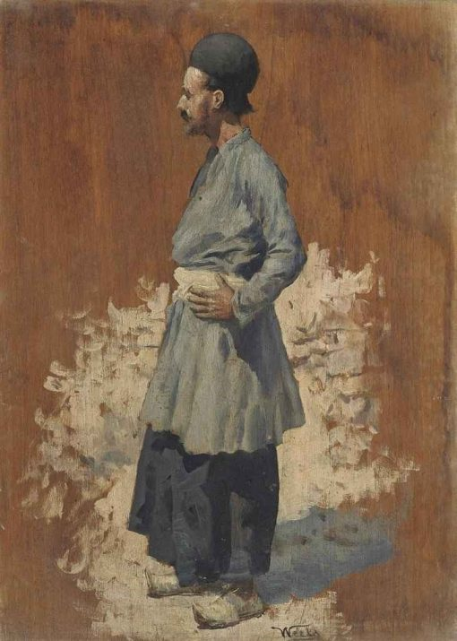 A Study of an Ottoman | Edwin Lord Weeks | Oil Painting
