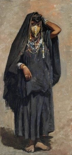 Veiled Girl of India | Edwin Lord Weeks | Oil Painting