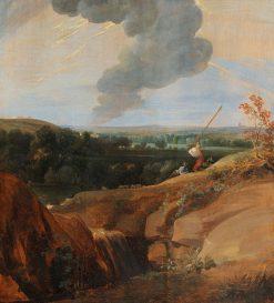 A Rocky Landscape with a Thunderous Sky | Jacques d'Arthois | Oil Painting