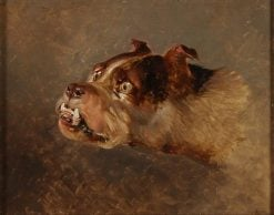 Bulldog | Sir Edwin Landseer | Oil Painting