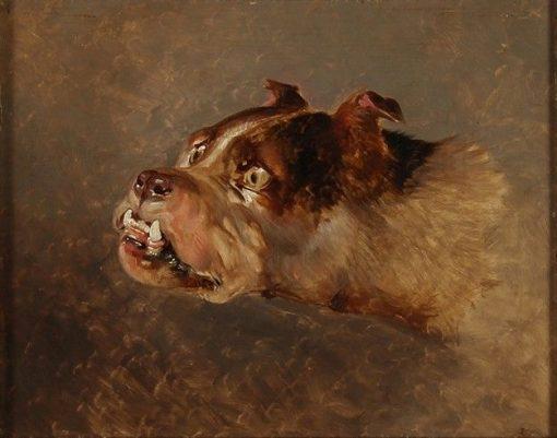 Bulldog | Sir Edwin Landseer | Oil Painting
