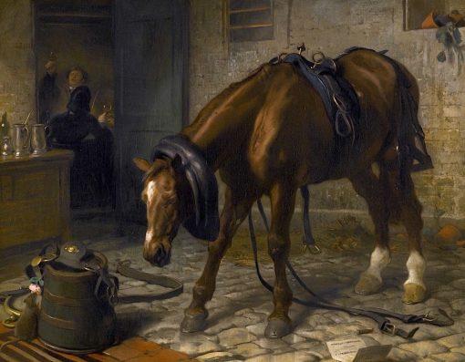 Adversity | Sir Edwin Landseer | Oil Painting