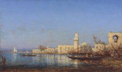 Tripoli d'Afrique | Felix-Francois-Georges-Philbert Ziem | Oil Painting