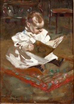 Dorothy Reading | Edmund Marion Ashe | Oil Painting