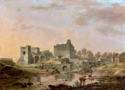 Views of Maynooth Castle | William Ashford | Oil Painting