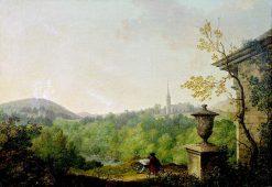 A landscape based on Dawson Grove
