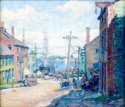 Center Street | Clifford Warren Ashley | Oil Painting
