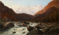 Anza River in the Anzasca Valley | Federico Ashton | Oil Painting