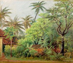 Tropical Landscape | James Ashton | Oil Painting