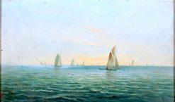Coastal Seascape | James Ashton | Oil Painting