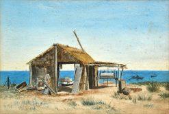 Boatshed | James Ashton | Oil Painting