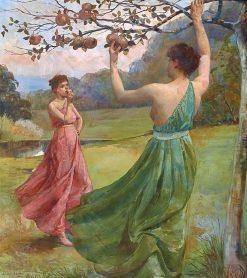 Picking Fruit | Julian Rossi Ashton | Oil Painting