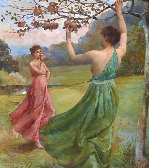 Picking Fruit | Julian Rossi Ashton | Oil Painting