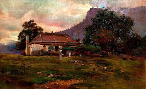 Cottage Near the Hawkesbury | Julian Rossi Ashton | Oil Painting