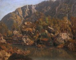 Capioller Mountains | Anders Monsen Askevold | Oil Painting
