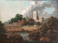 Kenilsworth Castle | Sidney Richard Percy | Oil Painting