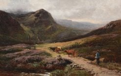 The Return Home | Sidney Richard Percy | Oil Painting