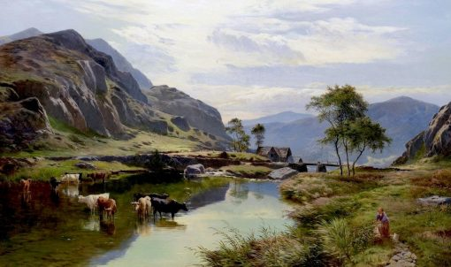 Capel Curig | Sidney Richard Percy | Oil Painting