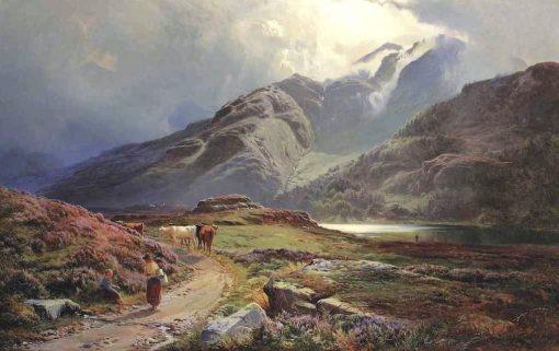 A view of Blea Tarn