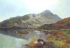 Snowdon | Sidney Richard Percy | Oil Painting