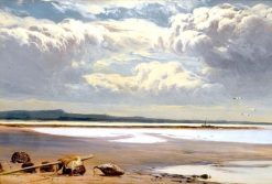 Retreating Tide | Sidney Richard Percy | Oil Painting