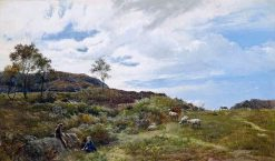The Shepherd's Rest | Sidney Richard Percy | Oil Painting