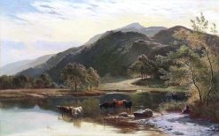 The Lake District | Sidney Richard Percy | Oil Painting