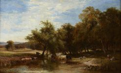 Noon | Sidney Richard Percy | Oil Painting