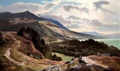 The Majesty of Earth and Sky | Sidney Richard Percy | Oil Painting