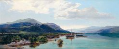 The Morning Catch in the Highlands | Sidney Richard Percy | Oil Painting