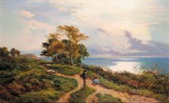 Overlooking the Bay | Sidney Richard Percy | Oil Painting
