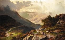 Welsh Mountains | Sidney Richard Percy | Oil Painting
